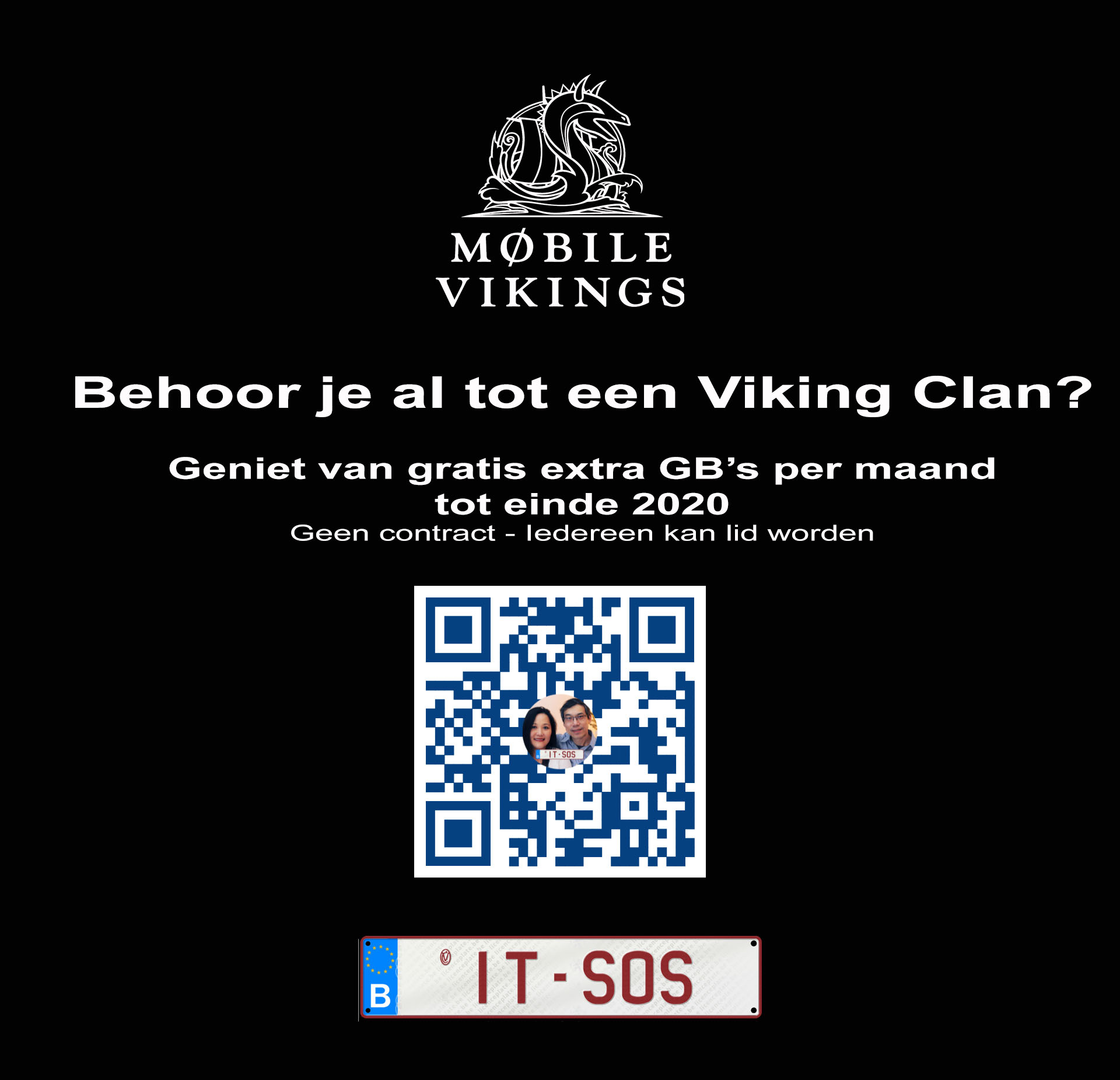 Mobile Vikings Clan worden